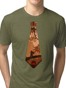 DK tie  - sunset sunrise - Jungle  Tri-blend T-Shirt