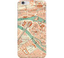 Zurich Vintage Map iPhone Case iPhone Case/Skin