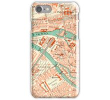 Zurich Vintage Map iPhone Case iPhone Case/Skin