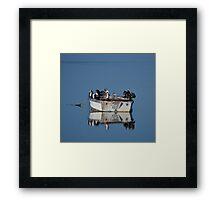 Little Cormorants Framed Print
