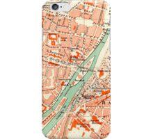 Munich Vintage Map iPhone Case iPhone Case/Skin