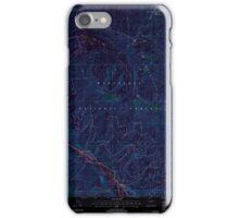 USGS Topo Map Washington State WA Brief 240231 2004 24000 Inverted iPhone Case/Skin