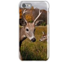 Deer - Photo Bomb iPhone Case/Skin