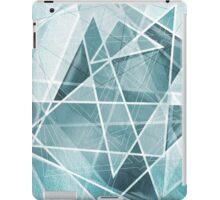 Abstract, Geometric Ice Design iPad Case/Skin