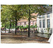 A stroll through Bruges, Belgium Poster