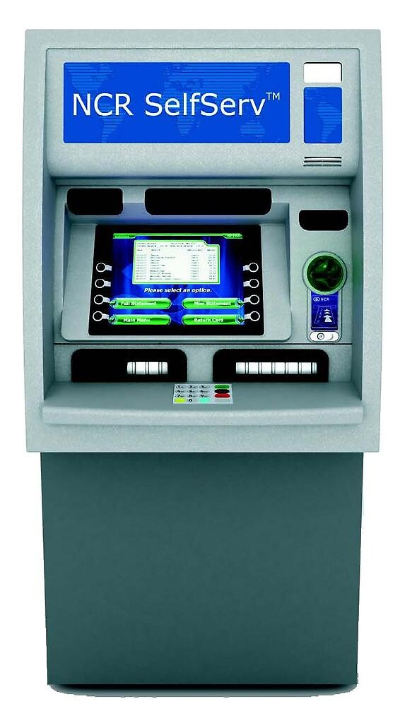 NCR SelfServ 32 ATM Machine by atmvendor