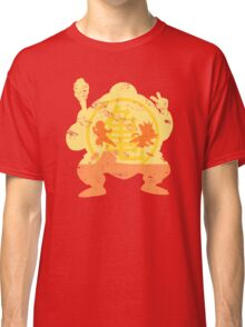 t shirt DBZ- Grunge- Training - Tortue génial  Classic T-Shirt