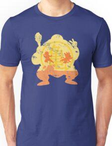 t shirt DBZ- Grunge- Training - Tortue génial  Unisex T-Shirt
