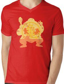 t shirt DBZ- Grunge- Training - Tortue génial  Mens V-Neck T-Shirt