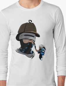 Robo Holmes (Full Color) Long Sleeve T-Shirt