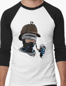 Robo Holmes (Full Color) Men's Baseball ¾ T-Shirt