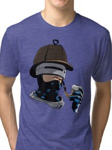 Robo Holmes (Full Color) Tri-blend T-Shirt