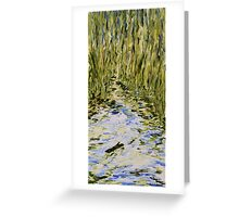 Drifting Greeting Card