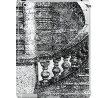 Black and White Staircase iPad Case/Skin