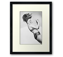 Burlesque 1 Framed Print