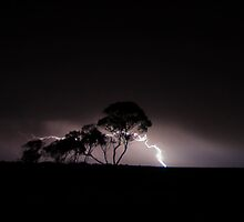 Mallee lightning 2 by Matthew Reid