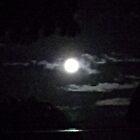 Full Moon over Maili by John Henry Martin