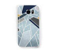 Soft silver/blue/navy/gold Samsung Galaxy Case/Skin