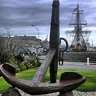 Spars at St.Malo  (2) by Larry Lingard-Davis