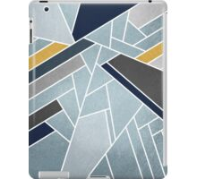 Soft silver/blue/navy/gold iPad Case/Skin