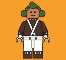 Lego Minifig - Oompa Loompa by benthos