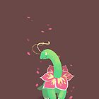 Chalk Meganium by anjila