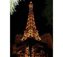 PARIS BY WAY OF VEGAS Photographic Print