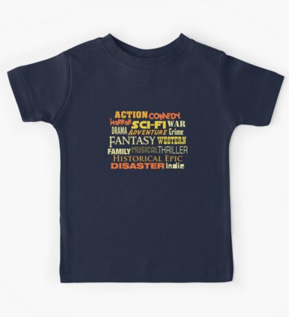 Film Types Kids Tee