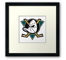 Anaheim Mighty Ducks Framed Print