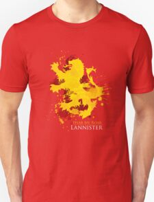 House Lannister Art Print T-Shirt