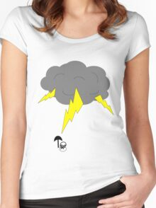 RAIN MAN Women's Fitted Scoop T-Shirt