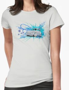 Bug Script Womens Fitted T-Shirt