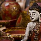 Buddha Statuette - Thailand by Daniel Nahabedian