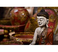Buddha Statuette - Thailand Photographic Print