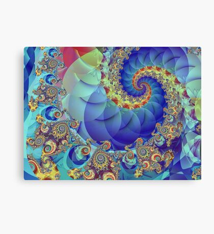 Spin Theory Canvas Print