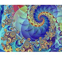 Spin Theory Photographic Print
