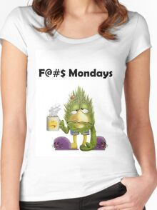 F@#$ Mondays Women's Fitted Scoop T-Shirt