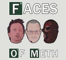 Breaking Bad - Faces Of Meth by lukeshirt