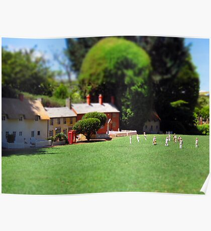 The Village Green Poster