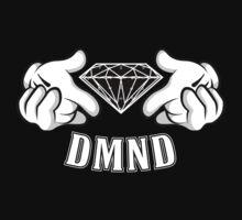 Diamond Hands DMND by CrystalKnot