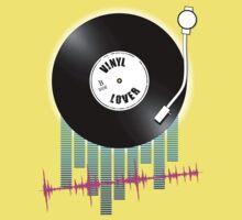 Vinyl Lover Baby Tee
