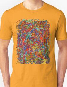 Jackson Pollack Did My Hair! Unisex T-Shirt