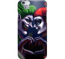 Harley Quinn And Joker Love Forever iPhone Case/Skin