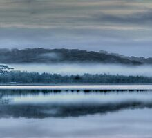Daybreak - Narrabeen Lakes, Sydney Australia - The HDR Experience by Philip Johnson