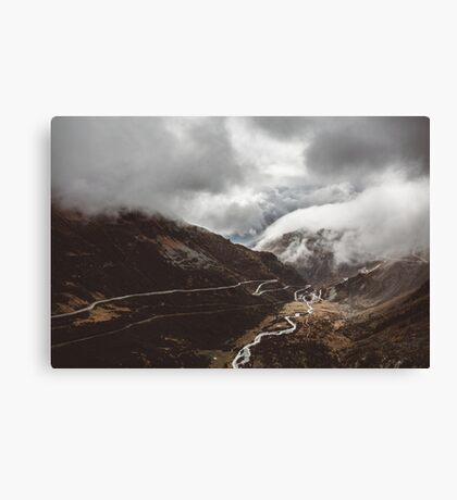 Somewhere in Switzerland Canvas Print