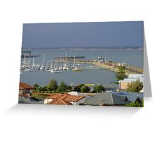 Bunbury Harbour Greeting Card