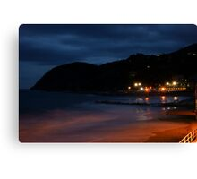 Levanto notte 1 Canvas Print