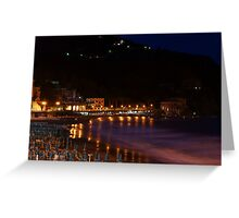 Levanto notte 2 Greeting Card