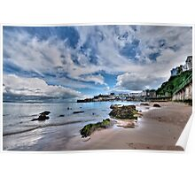North Beach Tenby Pembrokeshire Poster