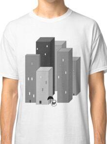 RAIN MAN VERSUS SKYSCRAPERS Classic T-Shirt